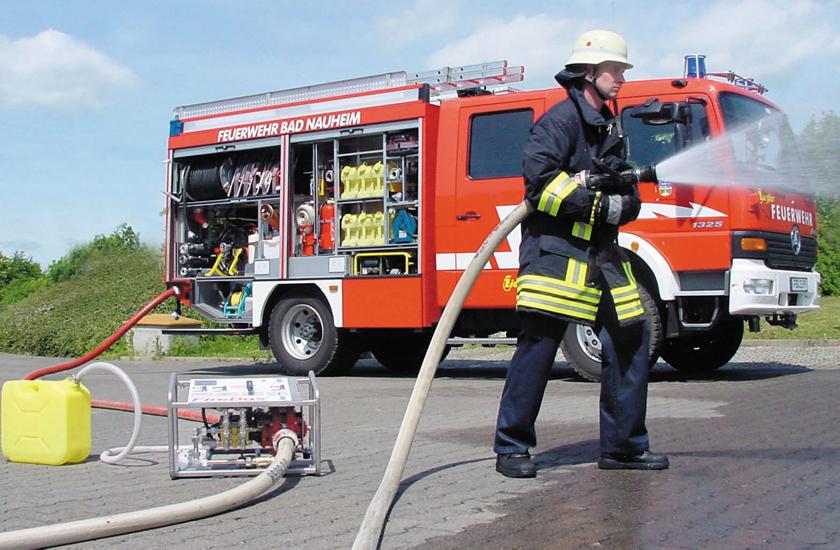 FD 1000 Mobile Einheit im Einsatz