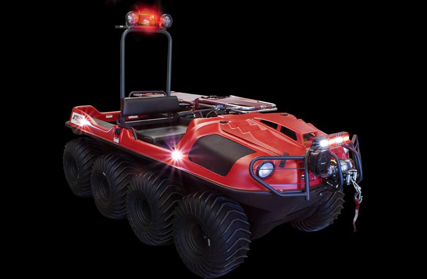 ARGO Le véhicule tout-terrain polyvalent