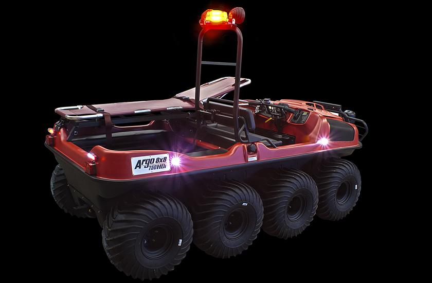 Le véhicule tout-terrain polyvalent
