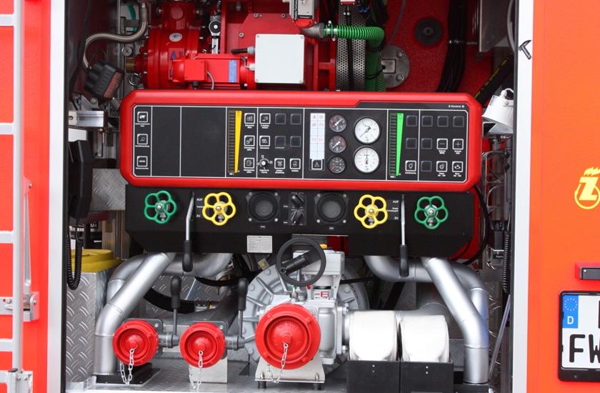 FD 2500 eingebaut