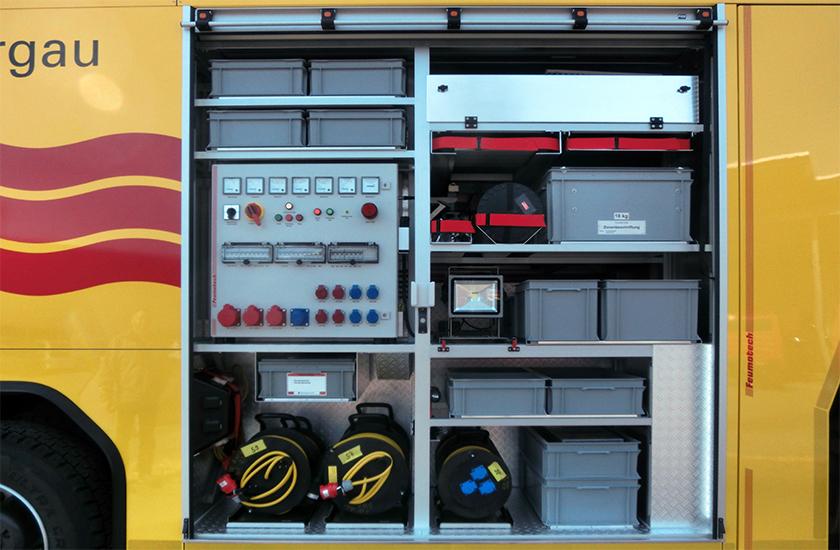 Generator mit Gelenkwellenantrieb